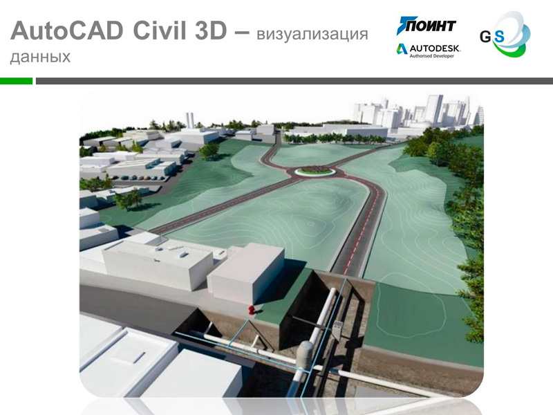 AutoCAD Civil 3D – визуализация данных