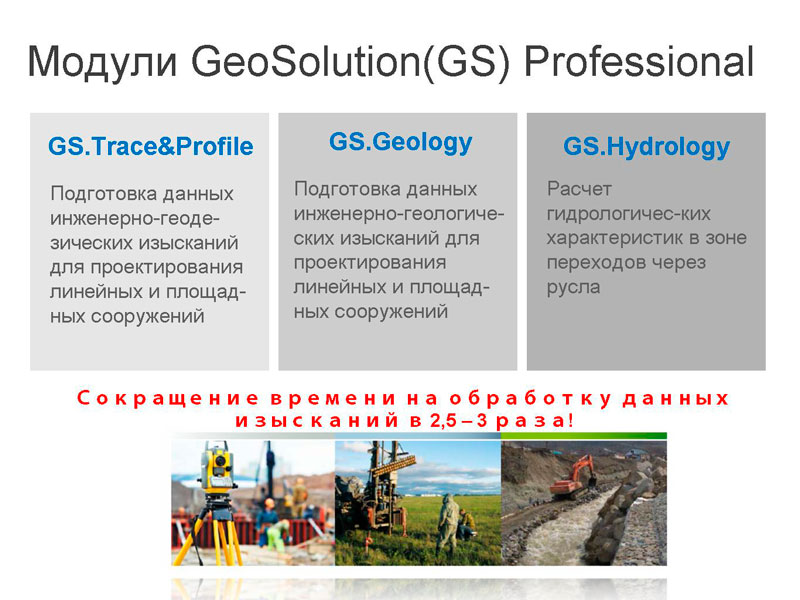 AutoCAD Civil 3D & GeoSolution Professional